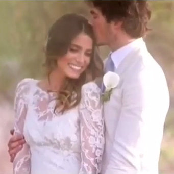 Ian Somerhalder and Nikki Reed's Wedding Video