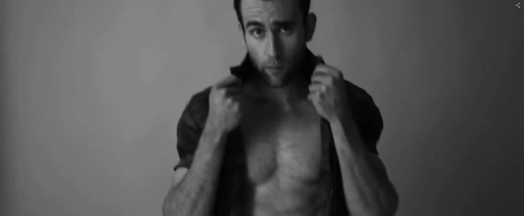There's Now Video of Neville Longbottom's Sexy, Half-Naked Photo Shoot