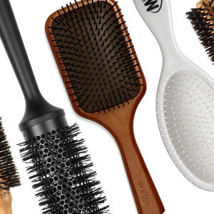 Your Guide To What Every Hairbrush Is Actually For