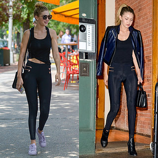 Gigi Hadid Day-to-Night Street Style