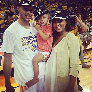 Pictures of Stephen Curry's Family and Daughter Riley