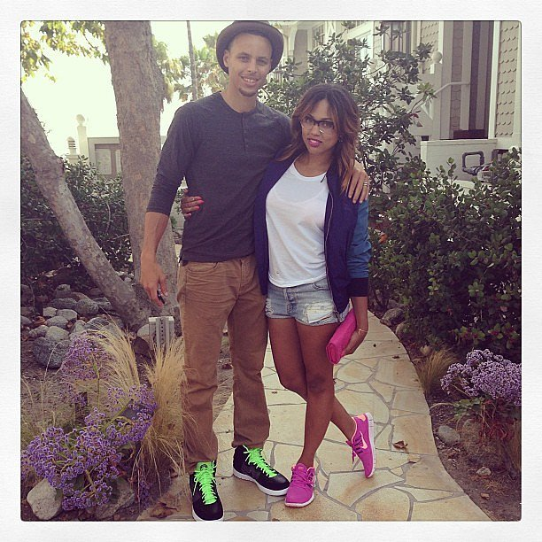 Stephen curry girlfriend ayesha and stephen curry pictures to pin on
