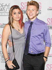 Paris Jackson Steps Out with Boyfriend Chester Castellaw at Spring Awakening Show