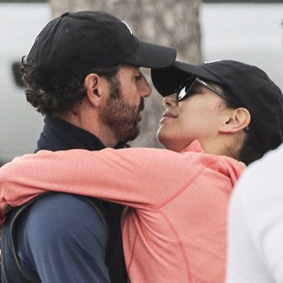 Eva Longoria and Boyfriend PDA in France