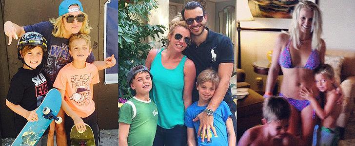 Britney Spears's Sweet Family Photo Album