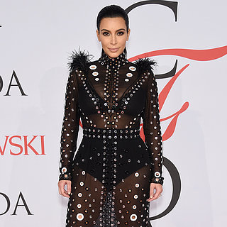 Kim Kardashian Dress at the CFDA Awards 2015