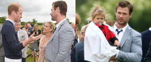 The Hemsworths Met the Royals — and the Pictures Are Beyond Adorable!