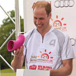 Prince William Gifted Pink Gum Boots For Princess Charlotte