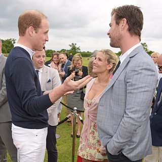 The Hemsworths Met the Royals For a Fun Day