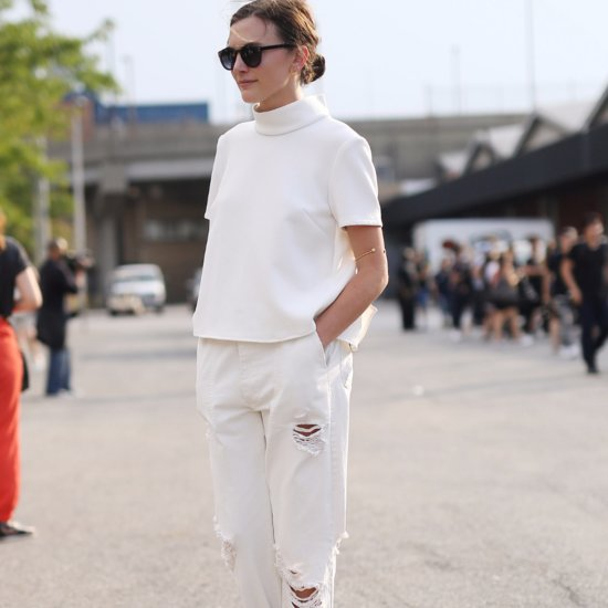 How to Find the Perfect White Jeans
