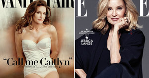 Jessica Lange on Caitlyn Jenner Comparisons