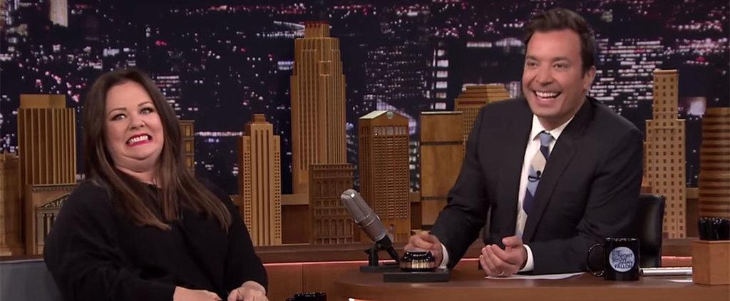 Melissa McCarthy Cracks Jimmy Fallon Up During a Hilarious Game of Random Word Association