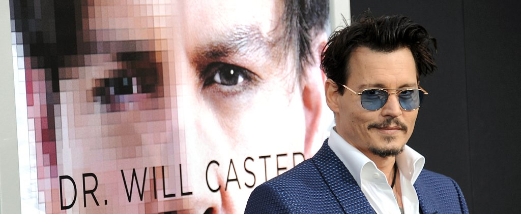 Johnny Depp Named the Hot New Face of Christian Dior Parfums