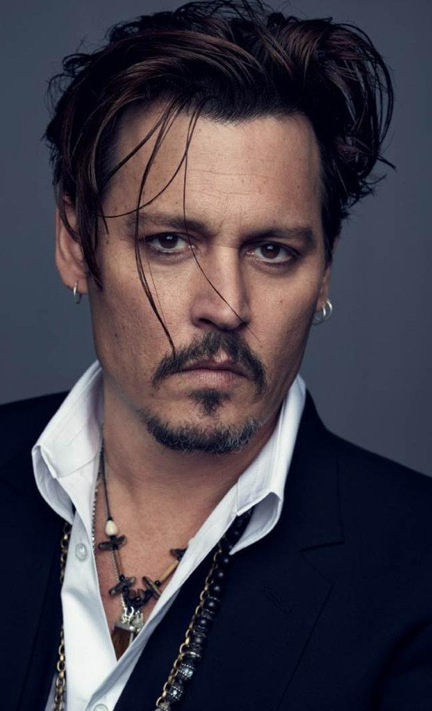 Johnny Depp For Christian Dior