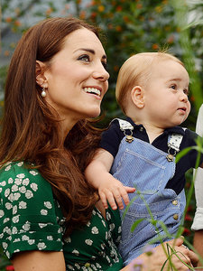 Princess Kate Plays Monster on Secret Play Date with Prince George - in Matching Mommy-and-Me Outfits!