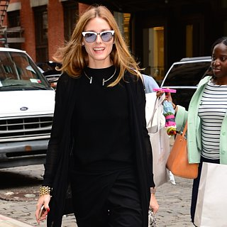 Olivia Palermo Wearing Summer Black