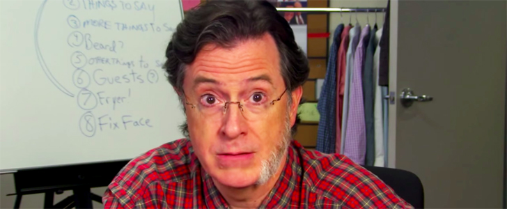 Goodbye, Colbeard! Watch Stephen Colbert Shave His Face For the Late Show