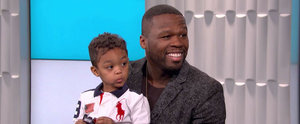 50 Cent's Son Crashes His Interview, and It's Insanely Precious