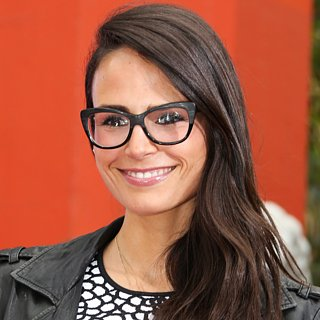 Jordana Brewster Wears Black Glasses