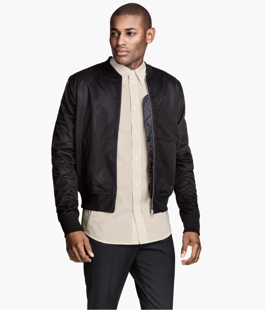 H&M Mesh Pilot Jacket