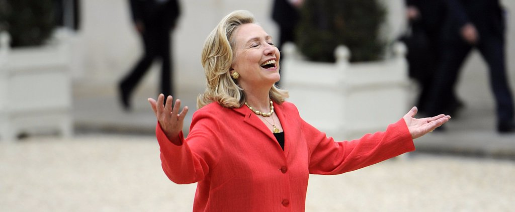 Hillary Clinton's Epic T-Shirt Will Turn You Into a Pantsuit Fan
