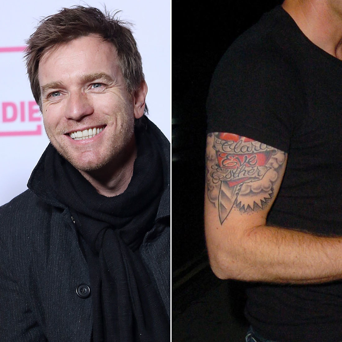 Ewan McGregor | Celebrity Dads Who Have Sweet Tattoos For ...
