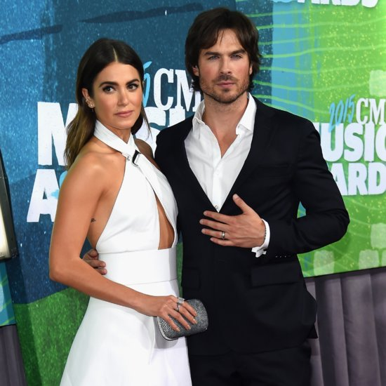 Ian Somerhalder and Nikki Reed at the CMT Awards 2015