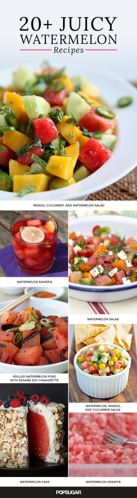 What a Watermelon! 20+ Recipes That Highlight the Juicy Fruit