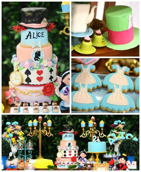 Alice in Wonderland Birthday Kid Party