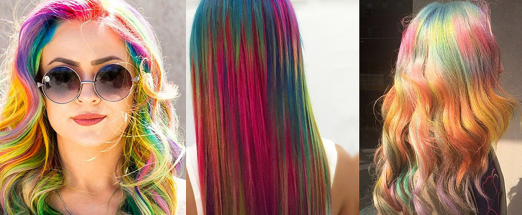 "14 ""Sand Art"" Hair Color Looks That Will Make You Join Team Unicorn"