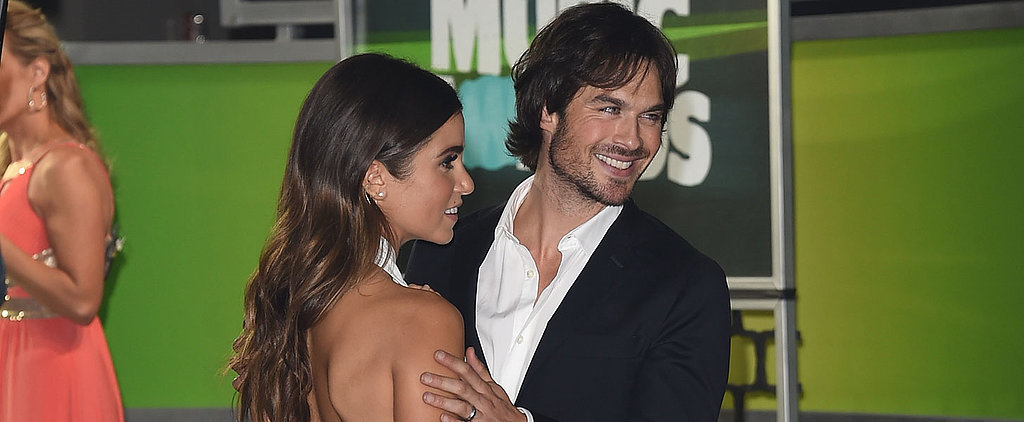 Ian Somerhalder's Dad Dance Moves Are Too Cute For Words