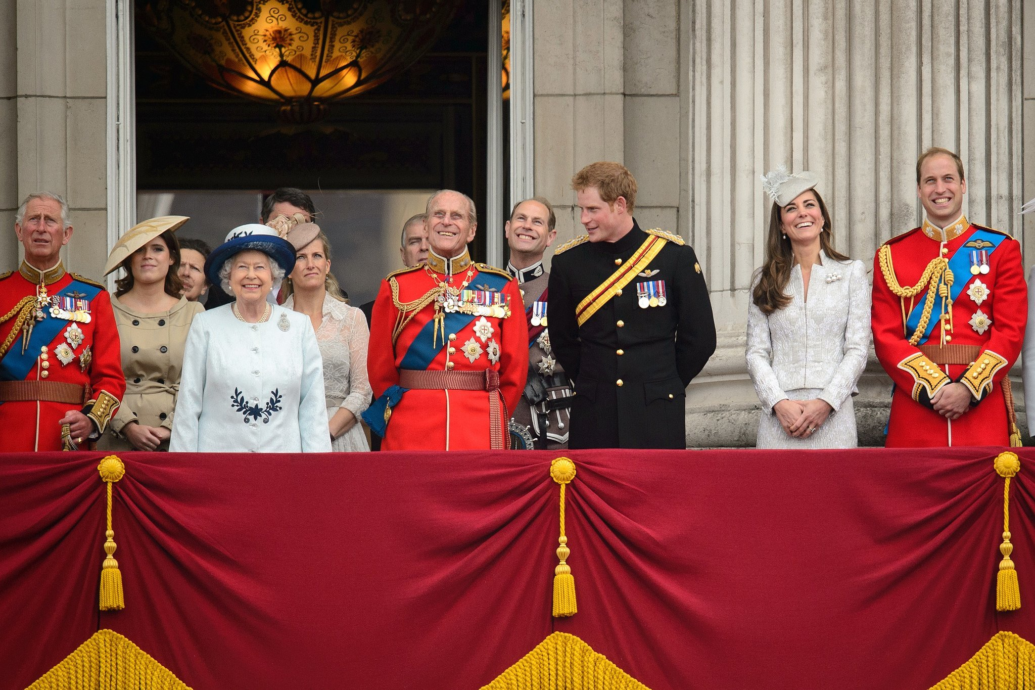 Trooping the Colour or the Queen's Birthday
