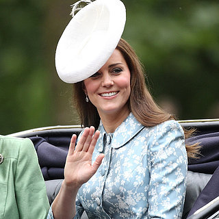 Kate Middleton und Prinz George bei Trooping the Colour
