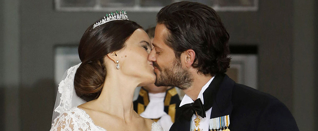 Prince Carl Philip Could Not Stop Kissing Princess Sofia at Their Romantic Wedding