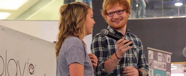 Ed Sheeran Surprising a Young Fan = the Sweetest Duet of All Time
