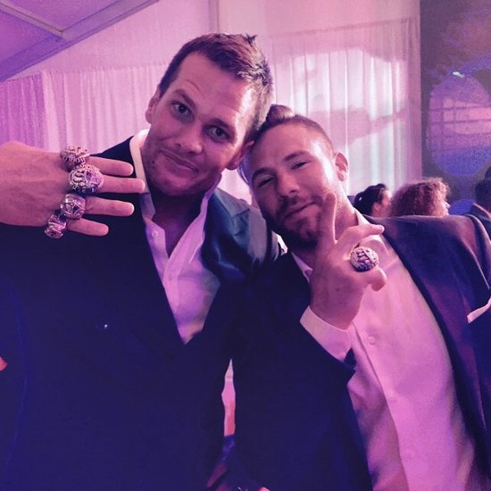 Tom Brady Dancing at Super Bowl Ring Ceremony