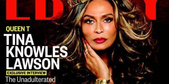 Tina Knowles Lawson's Ebony Cover Is Fit For A Queen