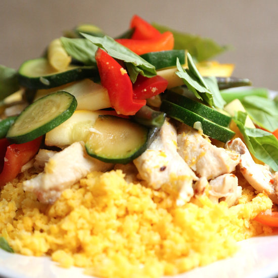 Fast and Easy Stir-Fry With Chicken and Summer Vegetables