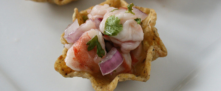 These Shrimp Ceviche Tortilla Bites Are the Perfect Fancy Party Appetizer