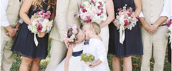 This Flower Girl Steals the Bride's Thunder, and It's Hilarious