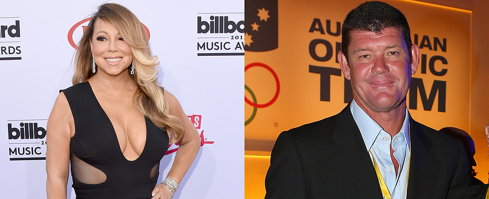 Wait, What? James Packer Is Dating Mariah Carey!