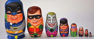 These Pop-Culture Nesting Dolls Are So Freakin' Rad