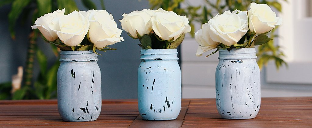 4 DIY Ways to Decorate Your Outdoor Space With Mason Jars
