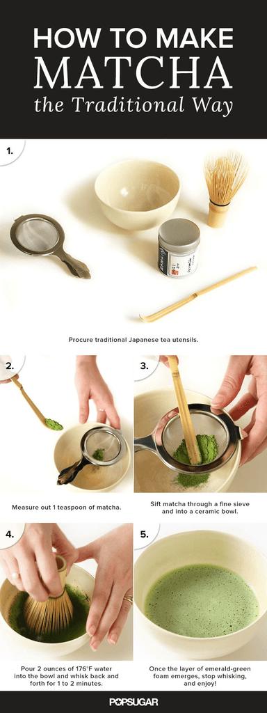 3 Methods For Making Matcha