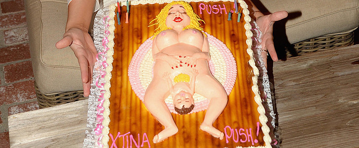 Freaky Deaky Baby Shower Cakes