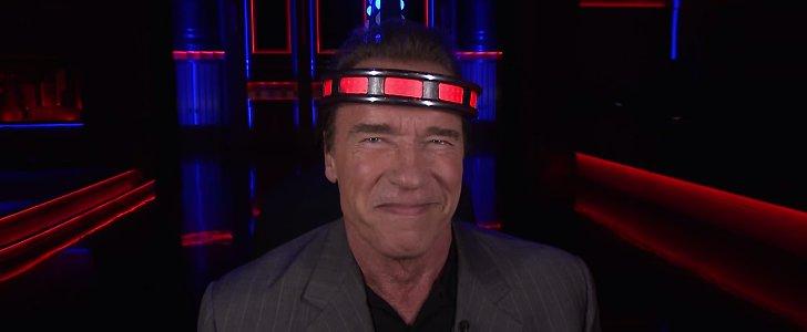 Not Even Arnold Schwarzenegger Can Keep a Straight Face Around Jimmy Fallon