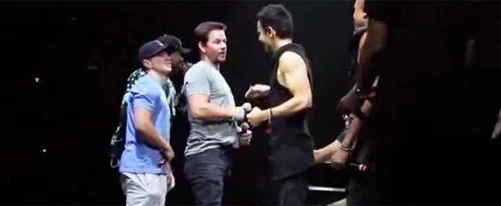 Watch Mark Wahlberg Reunite With New Kids on the Block on Stage!