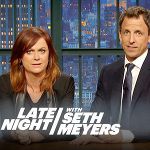 Amy Poehler and Seth Meyers SNL Women's Sport Sexist Tweet