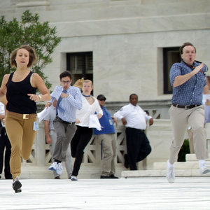 Interns Running to Deliver News of Gay Marriage Legalisation