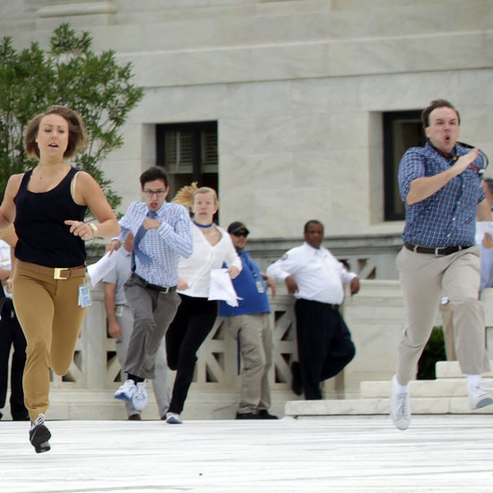 Interns Running to Deliver News of Gay Marriage Legalization